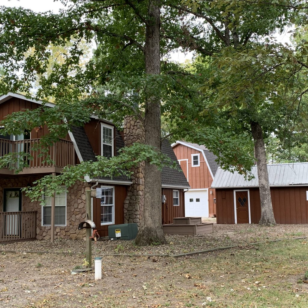House Exterior Hunting Property With 3 Bedroom Lake Bloomington Il Mclean County